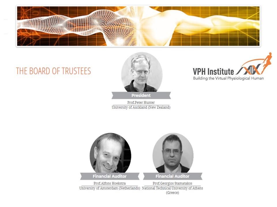 VPH institute - Board of Trustees